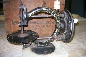 The little Wanzer Antique Sewing Machine @ 1880's