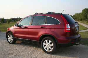 2008 Honda CR-V EX-L Sport Utility 4 Door, 4 CYL Red colour