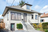 Solid Character Home in Fernwood. In law potential