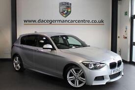 2013 13 BMW 1 SERIES 2.0 118D M SPORT 5DR 141 BHP DIESEL