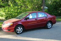 MINT CONDITION 2005 Toyota Corolla CE Sedan - Very LOW KMS