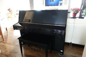Young Chang Upright Piano (Black)