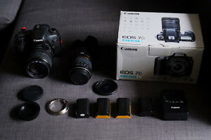 MAKE ME AN OFFER!: Canon EOS 7D + 2 OBJECTIFS/LENSES + EXTRA