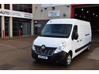 2.3 LM35 BUSINESS PLUS DCI S/R P/V 5D 125 BHP LWB AIR CON DIESEL MANUAL VAN 2015