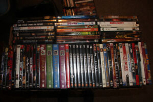 400 DVD huge movie collection action adventure drama horror