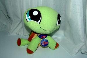 Littlest Pet Shop Plush Turtle