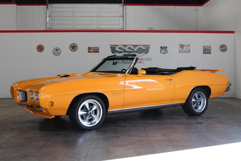Image 1 Voiture Américaine de collection Pontiac GTO 1970