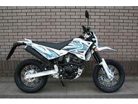 SINNIS APACHE 125 SUPER MOTO NT MX RS