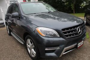 2013 Mercedes-Benz M-Class ML350 BlueTEC Nav Lane Assist Blind s