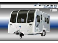 Bailey Pegasus Grande SE Turin, New 2021, 6 Berth, Touring Caravan