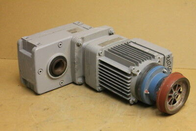 Offset Gearmotor 275 Ftlb 60rpm 1 38 Hollow Shaft Auh30dd-zba63a2 Demag Crane