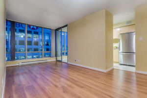 $3200 /month 2 bed 2 bath 1 den Hi Floor 828 SqFt Condo rental