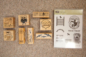 Scrapbooking/Card making HALLOWEEN rubber stamps *BUNDLE*