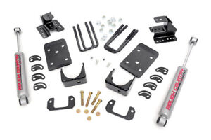 "ROUGH COUNTRY LOWERING KIT CHEVY 1500 07-14 2WD 4""F 2""R"