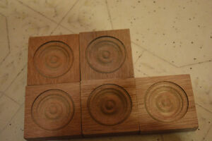 Wood corner pieces $1 each