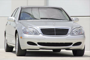 Mercedes-Benz S500 4MATIC (All wheel drive)
