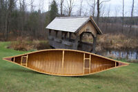 15'  Cedar Canvas Canoe by Headwaters ( Canadian Made )