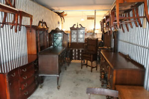 ** Elegant Antique Furniture, Solid Wood, Refinished (delivery)