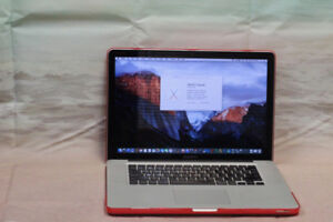 "MacBook PRO 15"" / From 2010 / 500 GB / New battery / Quad Core i"