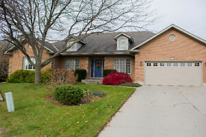 Beautiful Ranch Home on pristine ravine lot in Lambeth