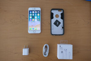 Unlocked iPhone 7 32 GB/Go Rose Gold (Pink)+OEM accessories