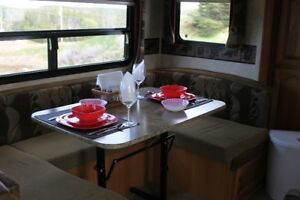 Oceanview travel trailer for rent Skerwink Trail-Trinity East