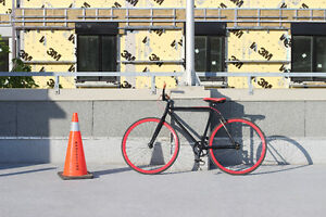RED AND BLACK MINT FIXIE
