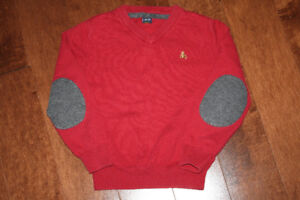 Baby GAP Red V Neck Sweater - 5T