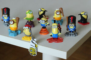 Minions kinder surprise toys + vintage totem