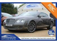 2009 59 BENTLEY CONTINENTAL 6.0 GT SPEED 2D AUTO 601 BHP