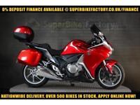 2010 10 HONDA VFR1200F 1200CC 0% DEPOSIT FINANCE AVAILABLE