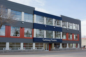 New office building with flexible spaces for lease