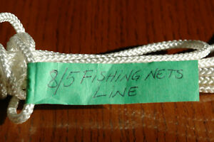 8/5 POLYPROPYLENE LINE WITH CORE FOR COMMERCIAL FISHING NETS