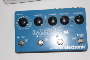 Flashback X4 Delay and Looper by TC Electronics Like New