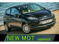 2009 Ford Fiesta 1.2 STYLE 3d 81 BHP [NEW MOT+SERVICE] Hatchback Petrol Manual