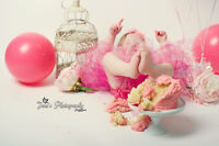 Cake smash and birthday photos only $200!