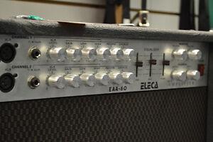 Eleca EAA-60 Acoustic Guitar Amp (Dual Channel 60W)