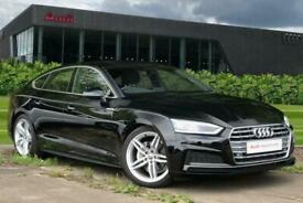 image for 2020 Audi A5 Sportback S line 40 TDI  190 PS S tronic Semi Auto Hatchback Diesel