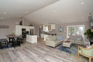 Beautiful large 4 bedroom cottage rental in Grand Bend