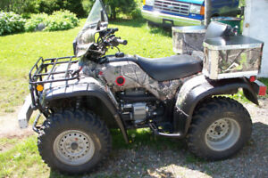 wanted a atv 350 or larger