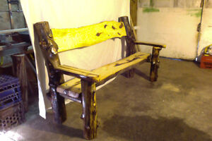 Hand crafted log Furniture for sale. Yellowknife Northwest Territories image 2