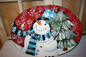 Q.  Christmas Platters-  See All Photos