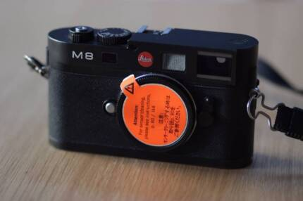 Leica M8 Black Digital Rangefinder