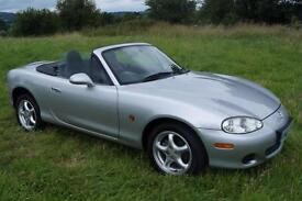 Mazda MX5 (Mk 2.5) 1.8i 2005 In Superb Original Condition **SOLD**