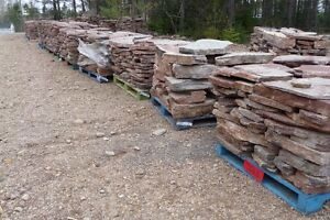 Natural stone - FLAGSTONE for landscaping projects.