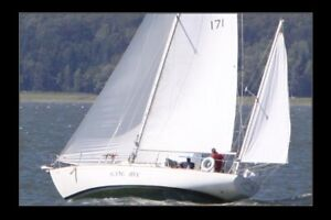 Voilier Alberg Yawl 37 pieds