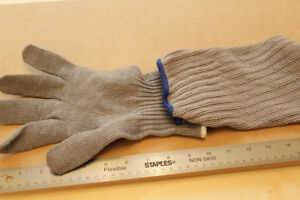 """Cut-Resistant """"Glove and Sleeve"""", Safety-Wear, Glass Trades"""