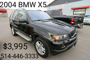 2004 BMW X5 Panoramic Roof