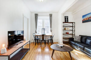 SPECIAL OFFER ALL INCLUDED ! 3 bd apt close to McGill University