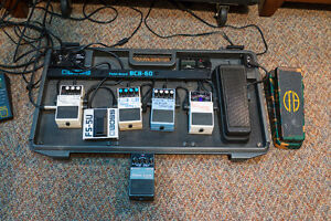 Cry Baby Wah and Metal Zone Pedals
